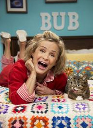 Amy Sedaris guest stars on Lil BUB's Animal Planet special